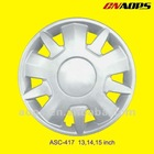 ASC-417 model plastic car wheel cover
