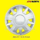ASC-417 model plastic car wheel cover