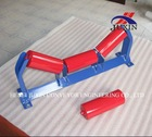 idler for belt conveyors for bulk material