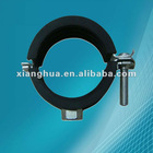 "hose clamps with hexagonal screw1-1/4"" pipe clamp"