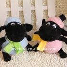 Lovely stuffed & Plush toys sheep with in plush suction cups animal toy