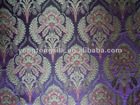 new design poly rayon blend jacquard home sofa curtain fabric in stock