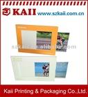 Paper photo frame insert