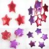 Plastic party decorative star