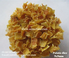 Dehydrated vegetable--potato chips
