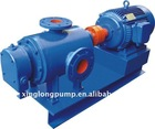 two spindle rotary positive displacement pump for oil production and other viscous liquids