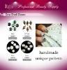 3D Handmade Seashell Stone Nail Art