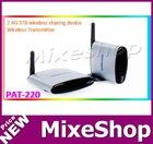 Wireless IR Remote Extender PAT220 2.4G STB wireless sharing device Wireless Transmitter Wireless IR Remote Extender