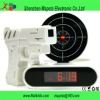 Wholesale Novelty Laser Gun Target Alarm clock,Gun Alarm
