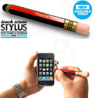 2012 New fashion Game Accessories Match Shaped Touch Screen Pen