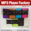 New model mp3 player factory wholesale mini mp3 support microsd card slot