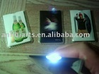 card flashlight