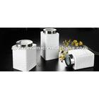3PCS Square Ceramic Canister Set (DP-942)