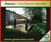 Durable anti-mildew bamboo fence