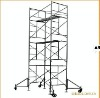 construction mobile scaffolding system/door scaffold inculding plank