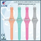 HOT SELLING SILICONE WATCH WITHOUT YOUR OWN BRAND NAME