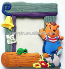 2d and 3d soft pvc cartoon photo frame/ picture frame