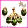 2012 bridal jewelry sets guangzhou fashion imitation jewelry