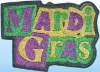 Mardi Gras Wall Plaque