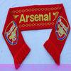 Football club knitting fan scarf