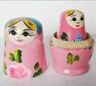 2012 hot sales christmas gift for children Wooden Russian Dolls( best gift, best toy, best decoration)