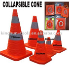 collapsible traffic road cone