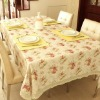 100% Cotton Fashion Countryside restaurant oblong Table linen