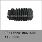 Auto air intake hoses for Honda accord V6/3.0L 17228-RCA-A00