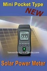 3-3/4 digits LCD Mini pocket type Solar Power Meter TM-750 free shipping