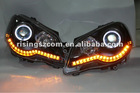 VW POLO head lamp with projector lens