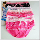wholesale cute young girl womens print lace bow tie panty briefs underwear drawers thong G-string T-backs
