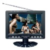 Portable 7'' Color TFT LCD Television Monoitor with Multi-Languages OSD Menu