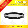 professional camera Lens Filter polarizer CPL 72mm