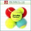 Tennis ball, rubber pet toys, plastic tennis balls