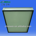 Clean room final stage H13 hepafilter microfiber glass paper