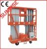 NEW Mobile Aluminum Work Platform AWP 150~300kg (Single /double mast)