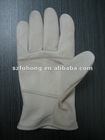 cheap grain cow leather work glove for industry use