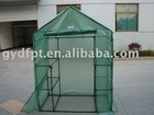 Small flower greenhouse with plastic connectors