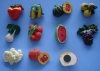 vivid and colorful fridge magnets ,Polyresin Fridge Magnets