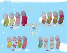 2011 100% cotton with spandex fashion baby girl short socks