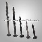 Black phosphating Drywall screw