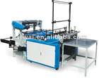 DW-BFM Flat-line Bag making machine with 300mm width and Panasonic servo motor control,Germany color mark sensor