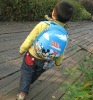 13'' Front hard shell and back 600D children backpack