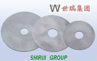 Solid Tungsten Carbide Discs for slitting and circular shear knives