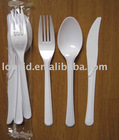 190mm long Heavy weight Disposable PS Cutlery Sets