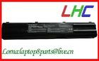 Laptop battery for ASUS A42-A3, Li-ion, 14.8V, 4400 mAh, black