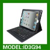 Keyboard stand leather case for new ipad 3 leather case