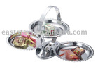 hot selling folding candy metal tray