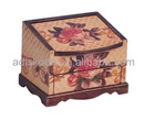 living room furniture- wooden storage cabinet with drawers and pattern