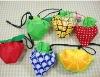 Ployester Strawberry Foldable shopping bag